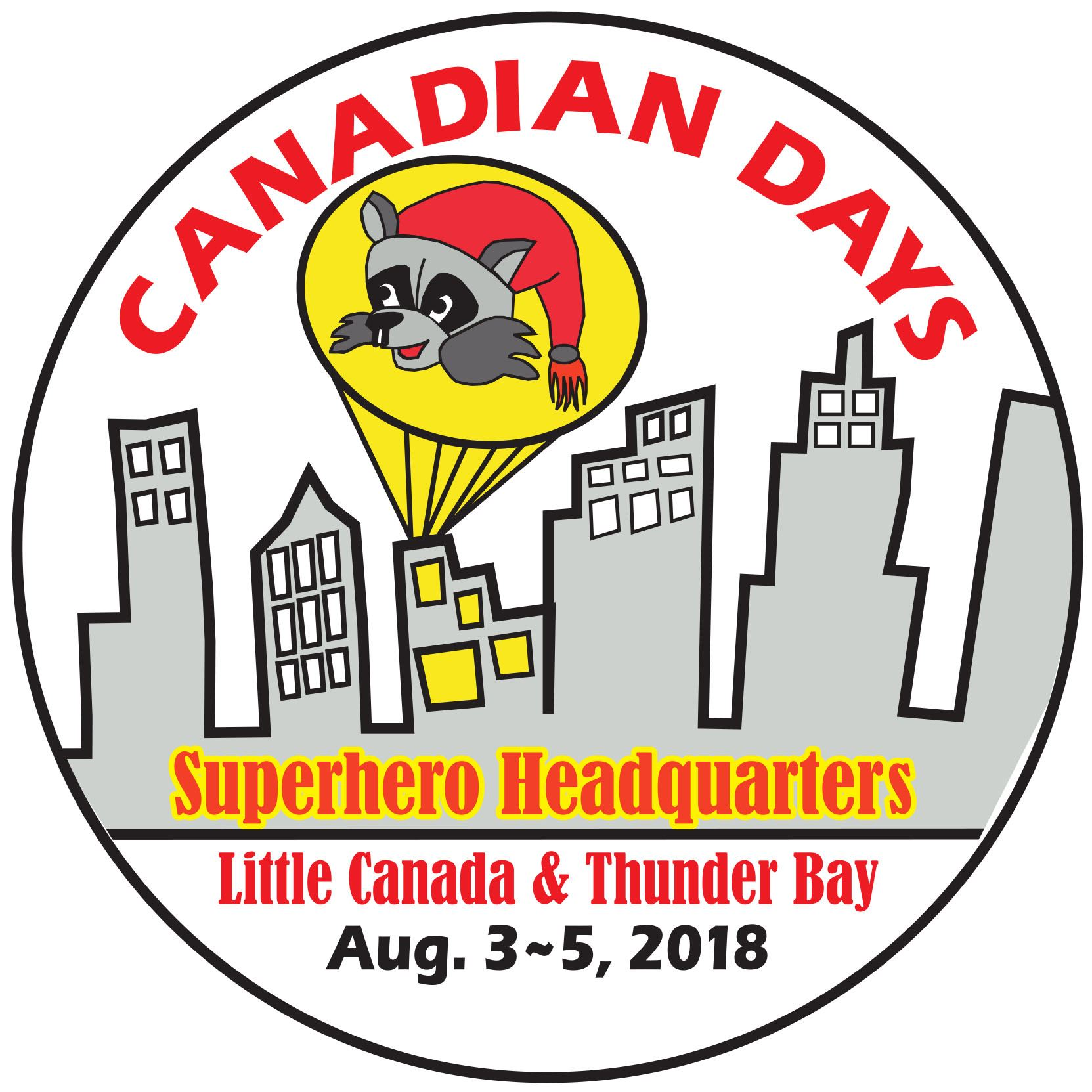 2018 Canadian Days Button