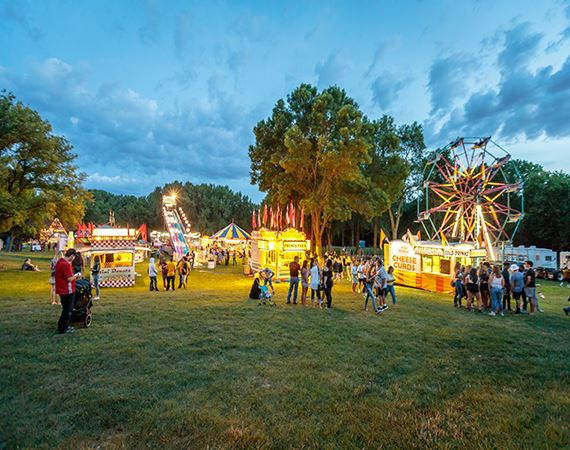 Canadian Days Carnival Night Picture